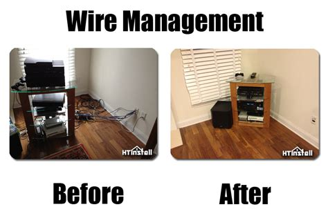 nj home theater wire management ht install nj