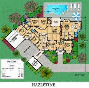 Motor Pool Floor Plan Hazletine House Plan First Floor Plan