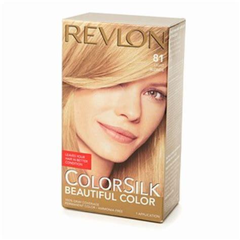 revlon colorsilk beautiful color no 81 light blonde 1 application hair revlon colorsilk 81 light blonde haircolor wiki