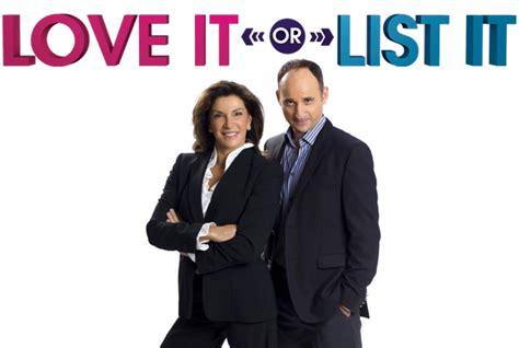 love it or list it hgtv hgtv s love it list it in raleigh