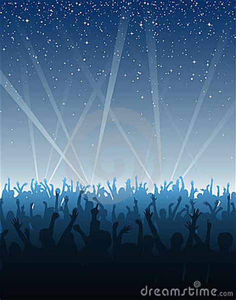 cheering crowd  stars royalty  stock