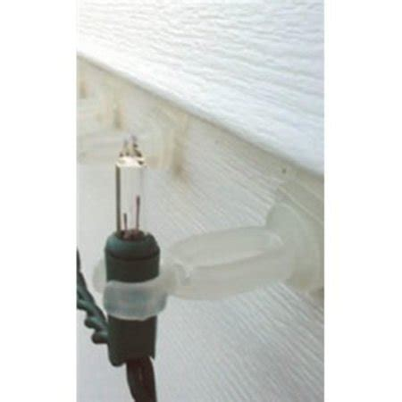 christmas light clips for vinyl siding 20ct outdoor swivel surface and siding mount light walmart