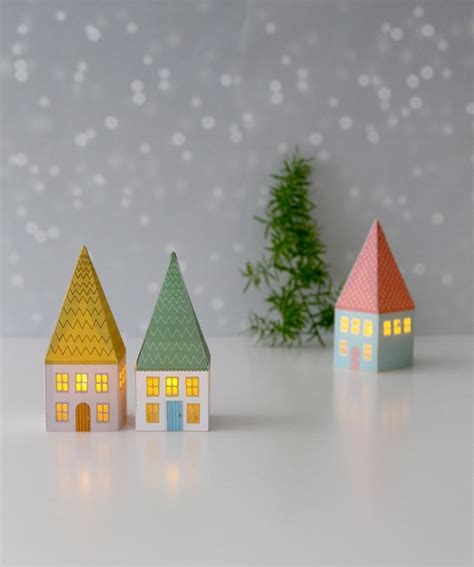 paper house diy paper house luminaries a piece of rainbow