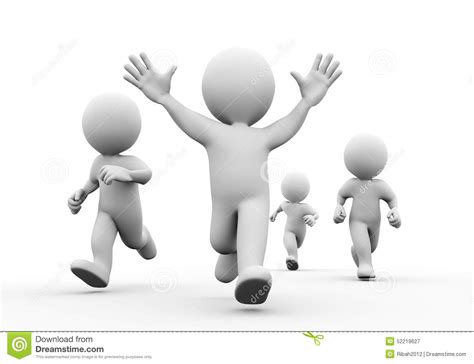 how to be a 3 man winning the heart of the woman of your dreams ebook 3d happy winner racer with hands up stock illustration
