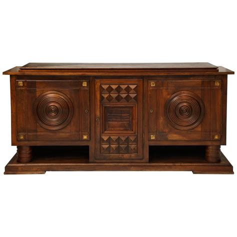 1930 Buffet Sideboard charles dudouyt deco mahogany sideboard buffet 1930s for sale at 1stdibs