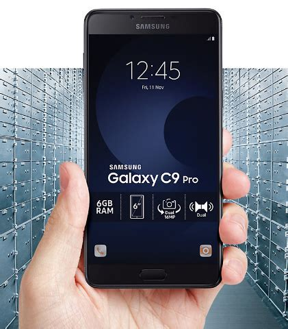 Handphone Samsung Galaxy C9 harga samsung galaxy c9 pro terbaru juni 2017 bursahpsamsung