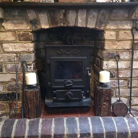 Brick Fireplace With Stove by Wood Multi Fuel Stoves Supply And Fitting In Kent