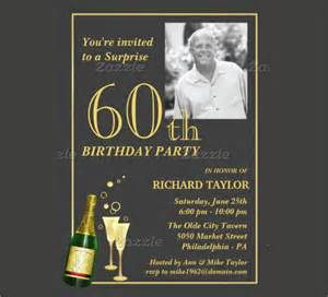 60th birthday invites free template 22 60th birthday invitation templates free sle