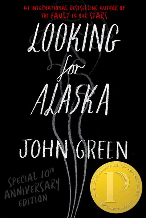 looking for alaska cover unveiled for the 10th anniversary edition of
