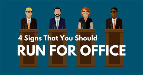 Run For Office by 4 Signs That You Should Run For Office American Majority