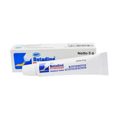 Betadine Salep Antiseptik 20 G salep betadine betadine 10 salep 20 g apotik antar