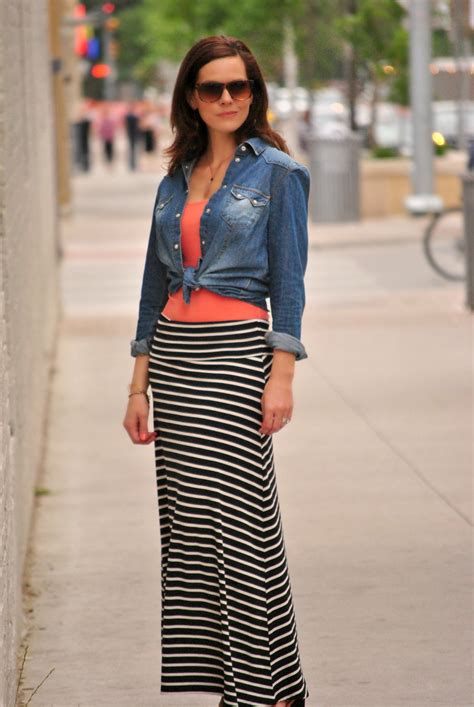 tank top with maxi skirt