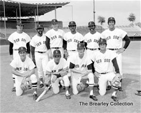 Sox L by 1973 Sox L To R Top Dwight Luis Tiant