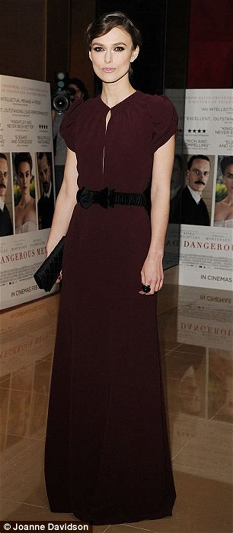 Keyra Dress Maroon By Sheika keira knightley suffers fail at a dangerous