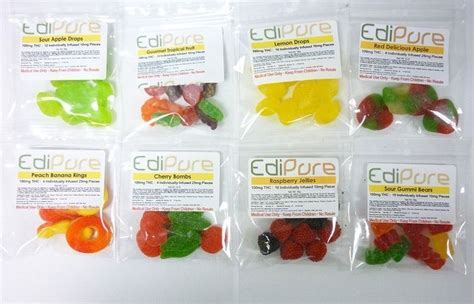 Thc Detox Calculator Edibles by Edipure 100 Mg Thc Assorted Flavors Http