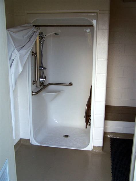 Shower Stall File Accessible Shower Stall Jpg