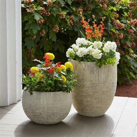 Large Garden Planters And Pots by Planters The Home Depot