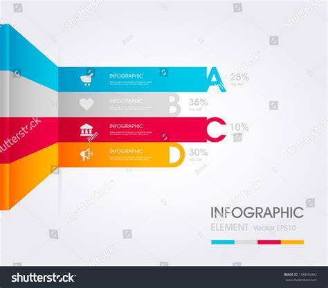 Modern Simply Infographic Template Vector Illustration Can Be Used For Workflow Layout Social Media Workflow Template