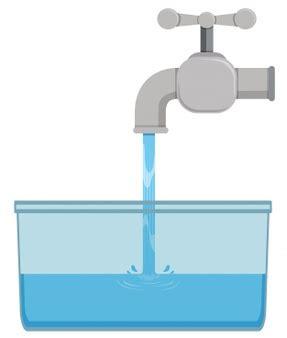 acqua di rubinetto rubinetto di acqua con goccia d acqua scaricare icone gratis