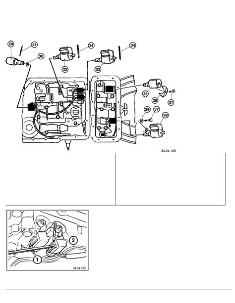 repair manual transmission shift solenoid 2009 bmw 3 series e46 zf 5hp19 transmission