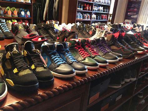 Chris Paul Shoe Closet by Chris Paul Shows 2012 Collection