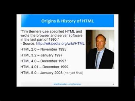 complete html tutorial youtube introduction to html and css a complete php tutorial for