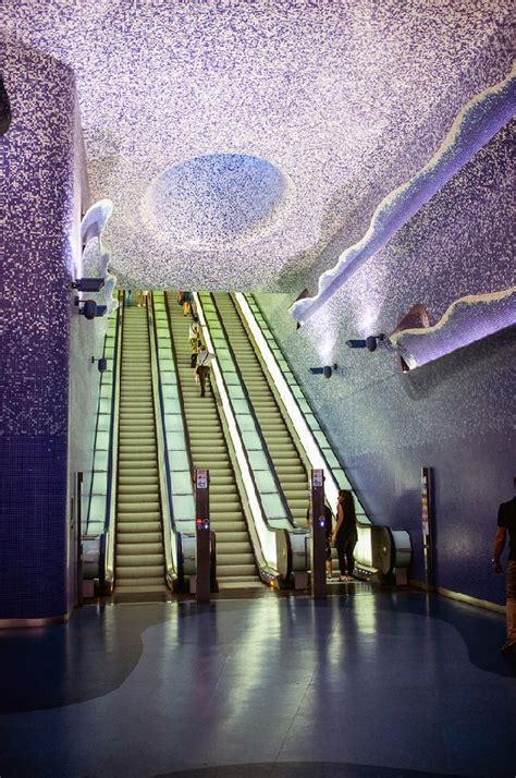 libreria universo marano di napoli las 10 estaciones de metro m 225 s originales de europa