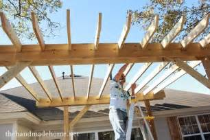 How To Build Your Own Pergola by How To Build A Pergola