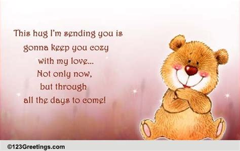 how to give a comforting hug comforting hugs free sympathy condolences ecards