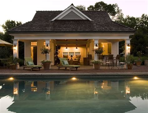 pool house guest house rancher pinterest the cape cod ranch renovation open cabana instead of
