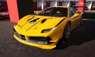 Challenge Cars Hello Yellow Unveils 488 Challenge At Daytona