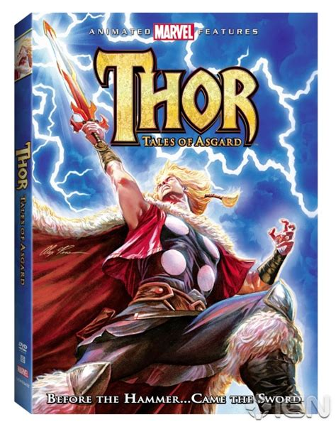 Film Thor Tales Of Asgard | marvel animation announces thor tales of asgard geektyrant