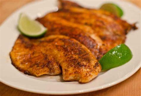 fish tilapia fillet recipes