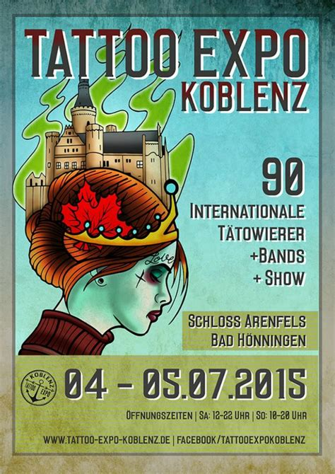 tattoo convention july 2015 tattoo expo koblenz july 2015