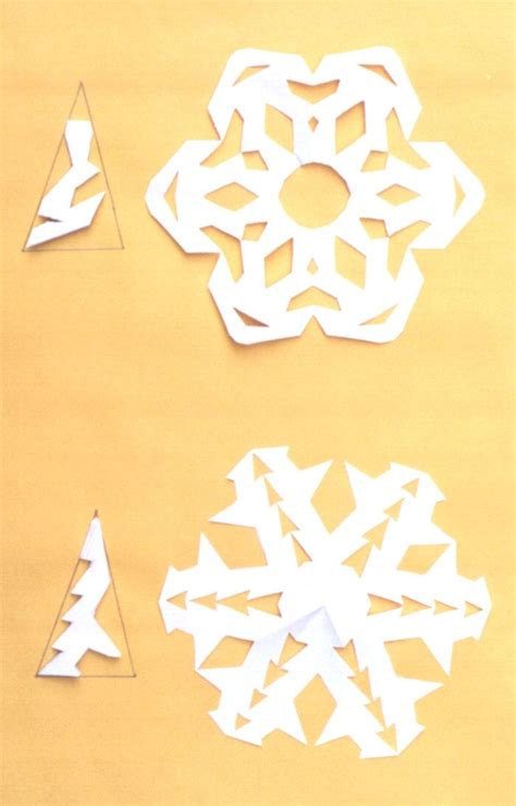 How To Make Paper Snowflakes Directions - 1000 images about snowflakes on paper