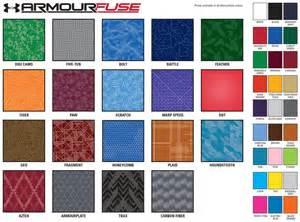 ua colors armour custom sublimated shooter shirt elevation