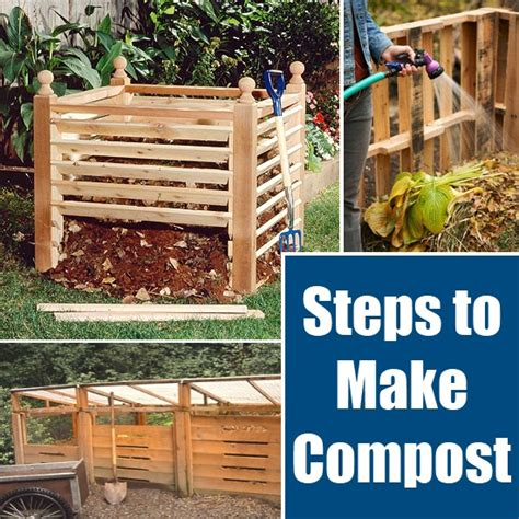 how to make compost diy home things