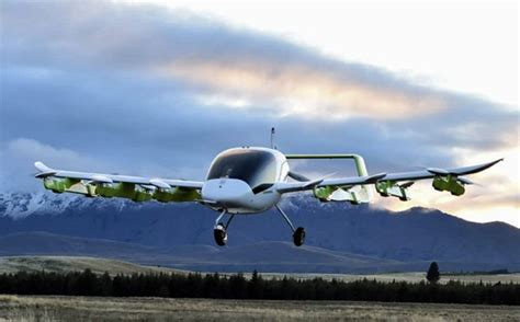 An air taxi, affectionately named Cora, that could take