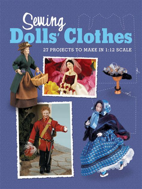 the dolls house clothing sewing dolls house clothes book