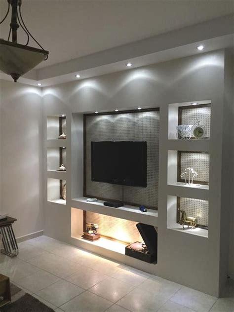wohnwand mit tv wohnen kamin design wohnzimmer regal