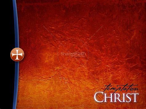 powerpoint templates jesus temptation of christ church powerpoint lent powerpoints