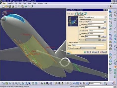 catia aircraft design the best aircraft 2017 catia v5 tutorials wireframe and surface design extract