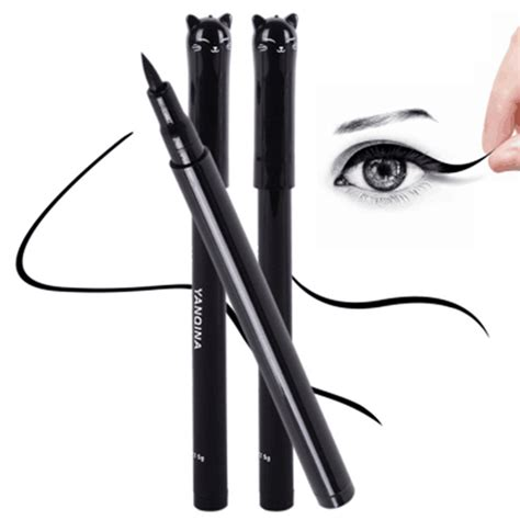 Wardah Eyeliner Pencil Black Best Seller cat style black lasting waterproof liquid