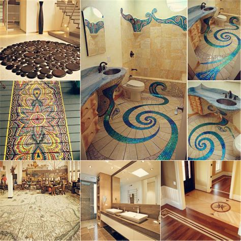 diy design amazing floor design ideas for homes indoor and outdoor