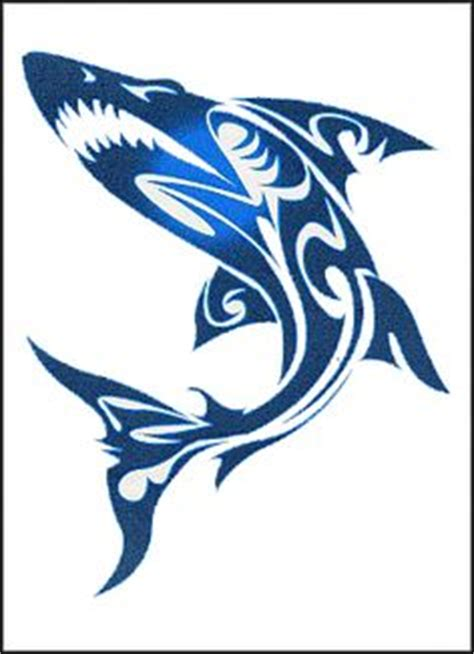 1000 ideas about tribal shark tattoos on pinterest