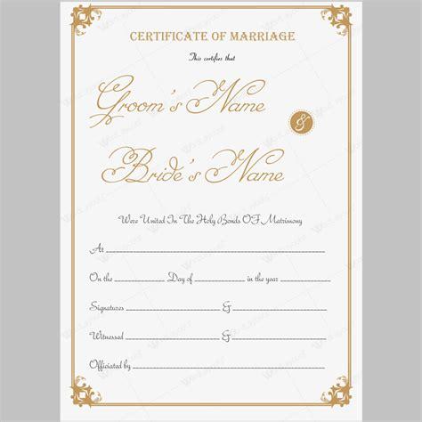 2016 marriage certificate marriage certificate 13 word layouts