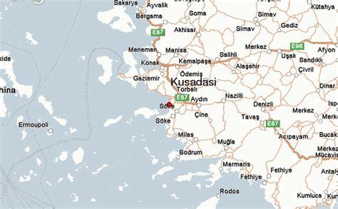 kusadasi city map kusadasi location guide
