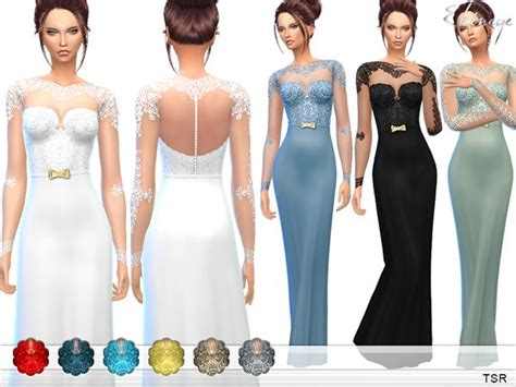 lace shirt the sims 4 17 best images about weddin on pinterest oscar de la