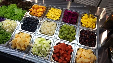 fruit bars say quot yes fruits quot with mbg new fruits salad bar miriam