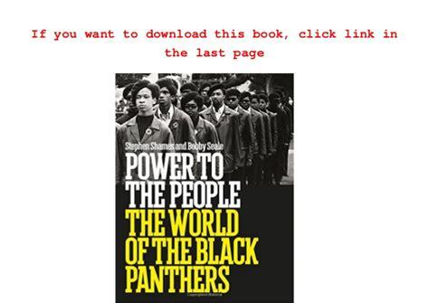 1419722409 power to the people the pdf free download power to the people the world of the